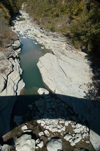 Vista dal ponte di Cadignano