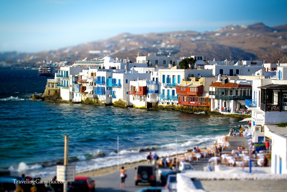 Little Venice Mykonos Greece Miniature