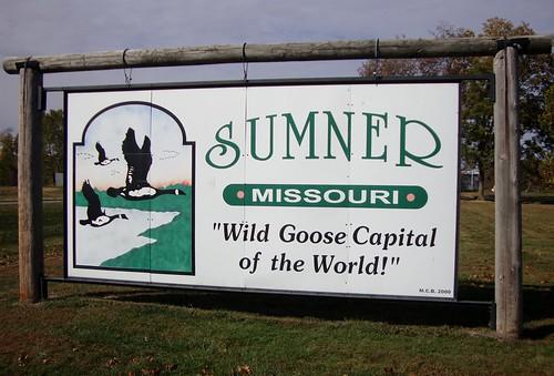 Sumner Welcome Sign (Sumner, Missouri)