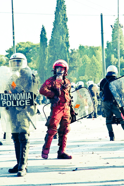 Athens general strike 19 October 2011