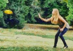 Catching a Frizbee - DAP_heavyHD