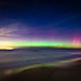 Aurora Borealis over Lake Michigan by Eric Hines Photography