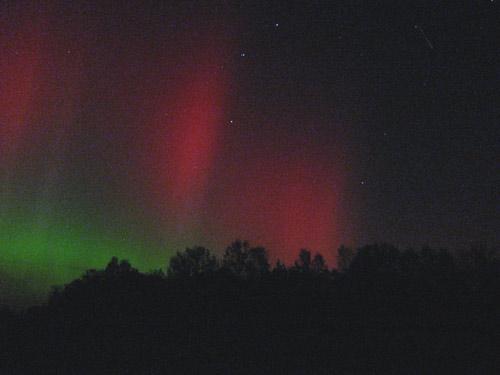 Ziemeļblāzma Latvijā 24/25 oktobris 2011