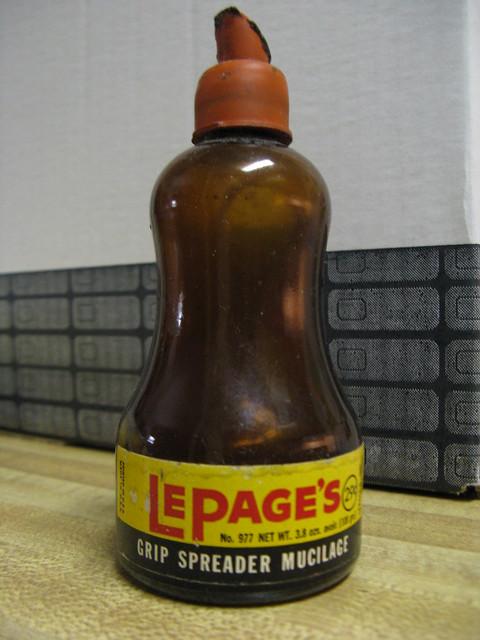 Vintage lepage s mucilage glue flickr photo sharing