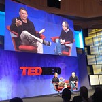 Lance Armstrong and David Agus at TEDMED2011