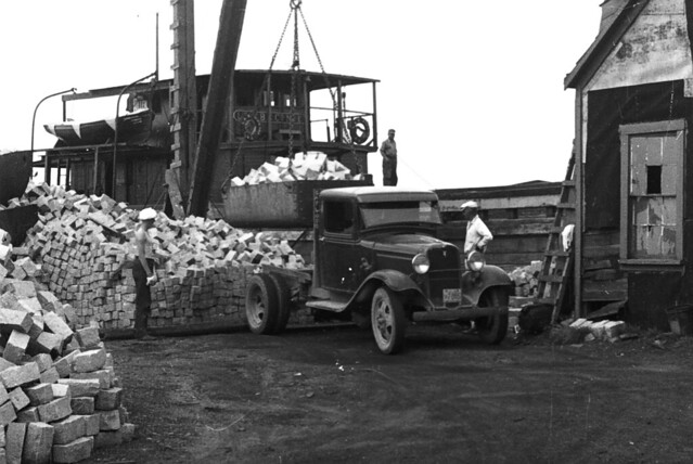 20 11c Vinalhaven Maine 1936 Pink Granite Quarry Flickr