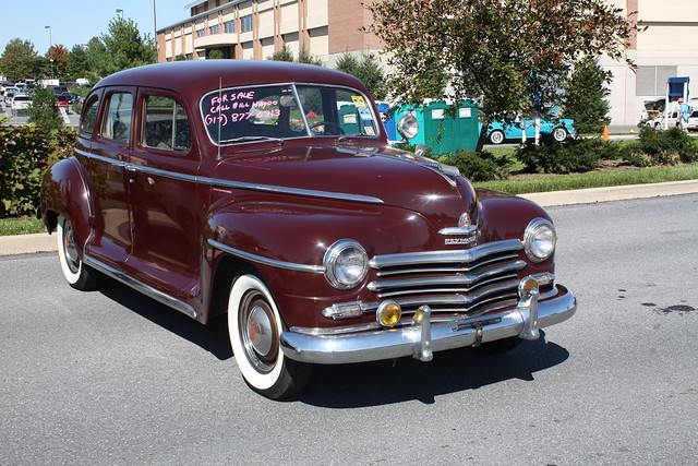 1948 Plymouth Special Deluxe 4 Door Flickr Photo Sharing