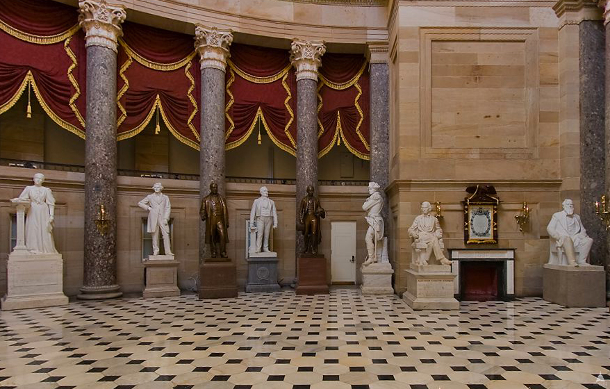 Marble architect of the capitol united states capitol for Interior home designers and washington dc