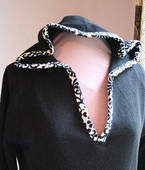Tweaked Hoodie - After - Trimmed Hood
