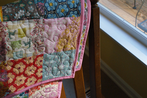 Little Folks Quilt - Zigzag Binding