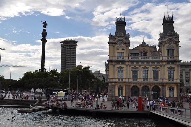2011.07.25.534 - BARCELONA - Rambla del Mar - Monumento a Colón