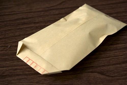 封筒ぎんなん
