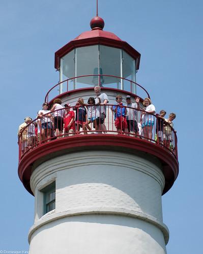Marblehead Lighthouse summer 1