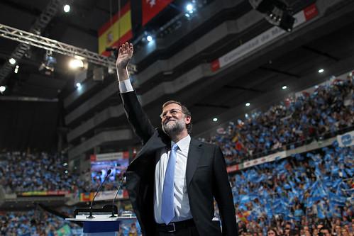 MITIN CIERRE DE CAMPAÑA DE MARIANO RAJOY EN MADRID