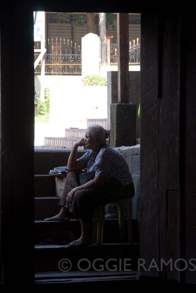 Taal Town Nanay Nora Pensive