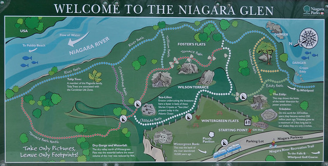 Niagara Glen Park Map Flickr Photo Sharing