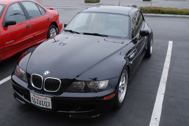 2000 Z3 Coupe | Jet Black | Walnut | M Side Grilles and Front Bumper