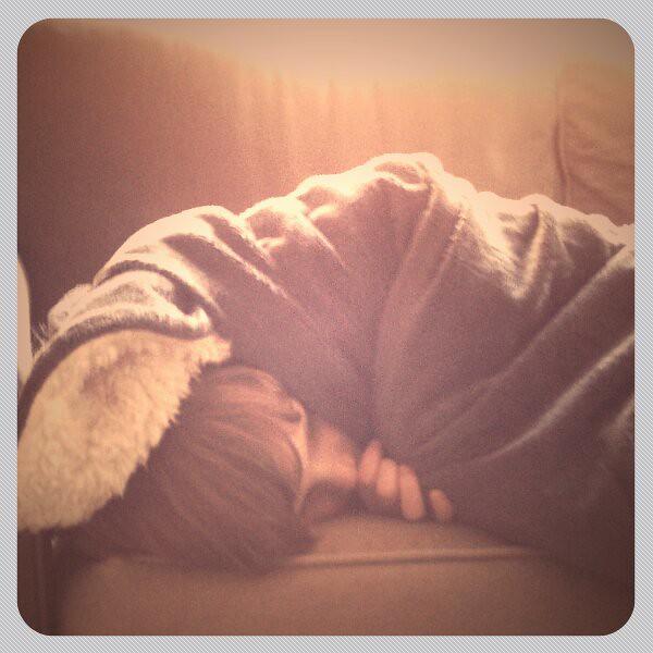 cuddled.
