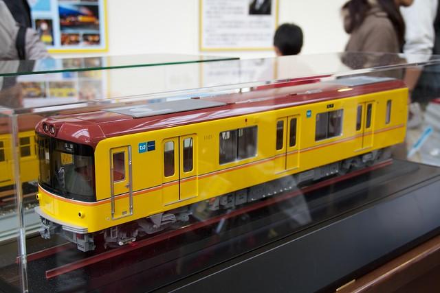 東京メトロ1000系模型