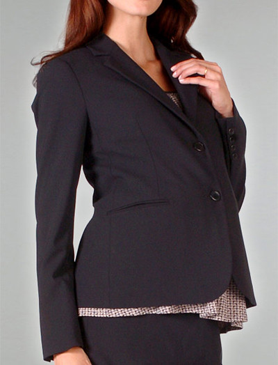 For an instant, pulled together look, the classic black maternity suit is foundational and always appropriate. To bring you added value, we've made all of our best selling maternity business suits available as specially-priced 2-piece and 3-piece suit sets.