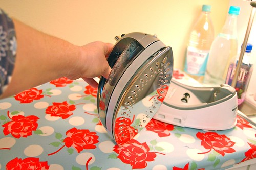 My new toy! Panasonic 360° Freestyle cordless iron