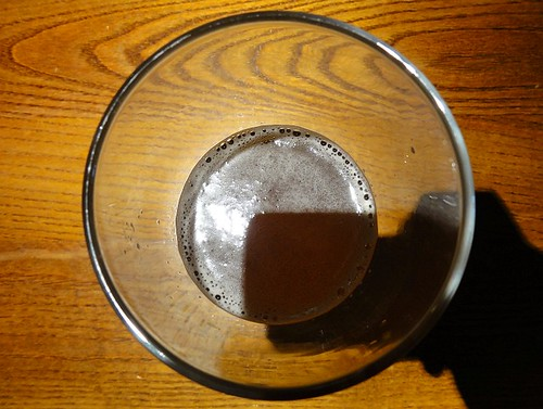 Shadow in my beer