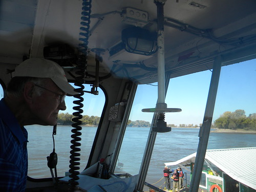 Leaving the Missouri River