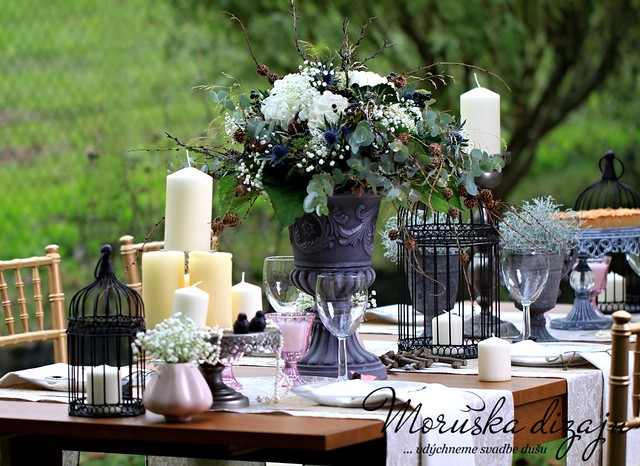 Franc zska romanca La M moires de Paris wedding decorations theme
