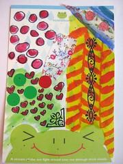 handmade postcard 4 2012