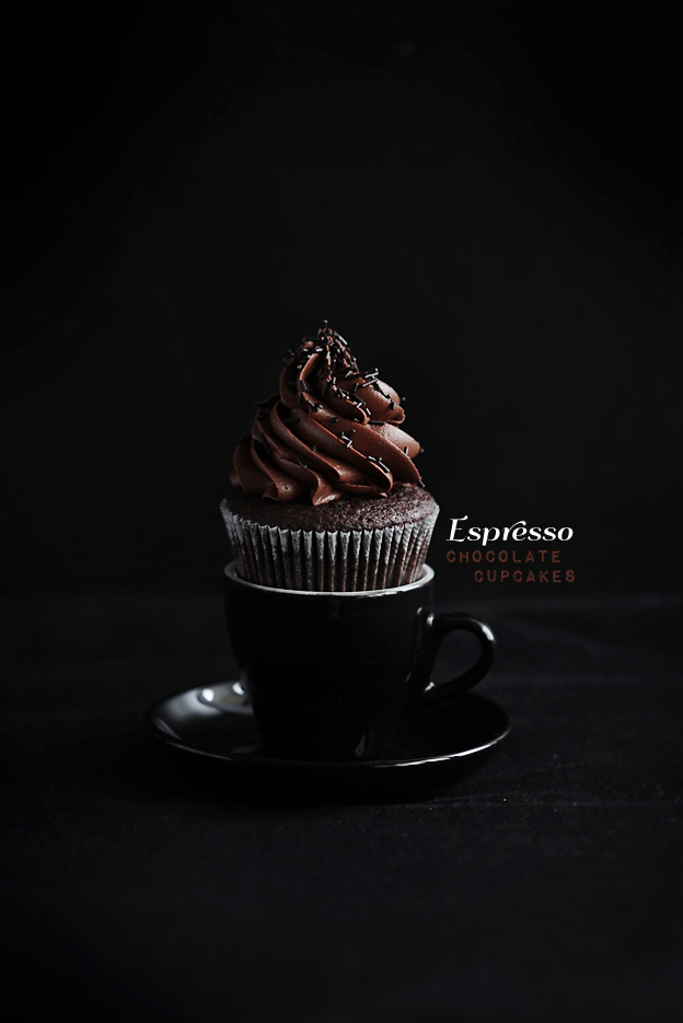 Call me cupcake: Perfect espresso chocolate cupcakes