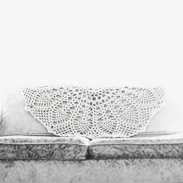 doily blanket: Glory