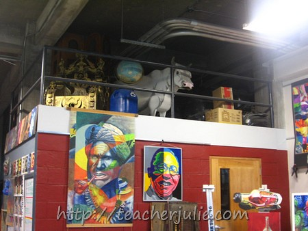 Faith Academy art room