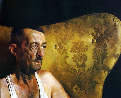 James Wyeth - Portrait of Shorty [1963] by Gandalf's Gallery