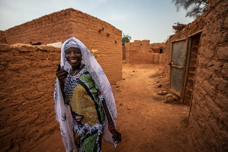 portrait of life in the village of the Bani, Sahel, northern Burkina Faso