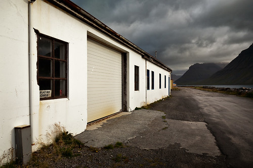 Warehouse beside the Fjord
