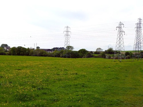 The Vallum with pylons