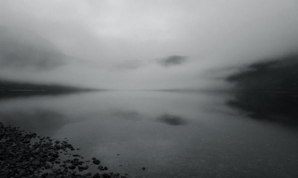 Mist over Loch Einich