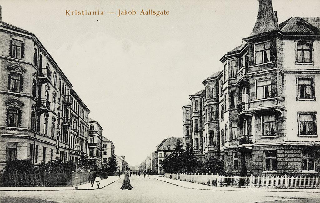 1862. Kristiania. Jakob Aallsgate