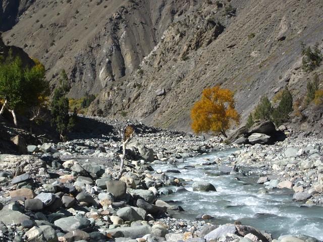 Pokara river.