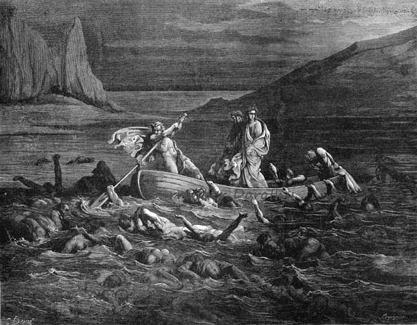 an overview of dantes canto xxviii Gustave doré illustration - inferno canto 28, 265 when it was right at the foot of  our bridge,.