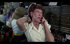 "Ernestine Tomlin - Switchboard in ""Incredible Shrinking Woman"""