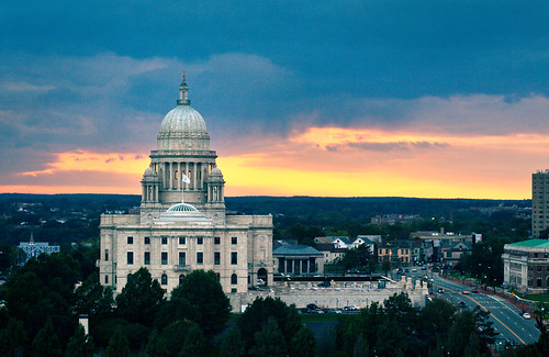 Rhode Island State House by h ssan via I {heart} Rhody