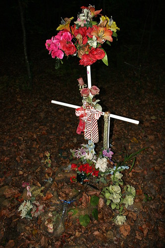 Patsy Cline Plane Crash Site Cairn