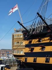 hms victory stern starboard