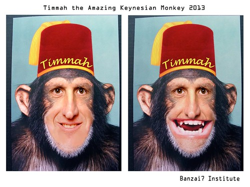 TIMMAH THE AMAZING MAGIC MONKEY by Colonel Flick