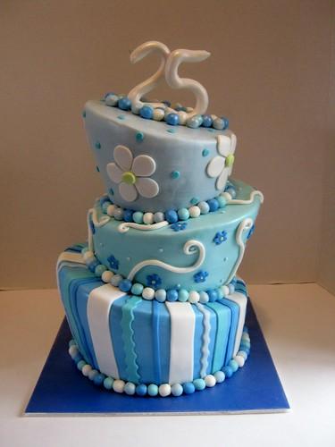 Anniversary Cake by Cake Maniac