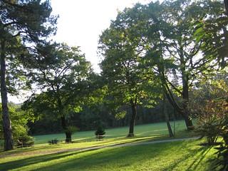 Image of  Hermesvilla. vienna wien autumn oktober nature garden austria österreich woods october herbst wald tiergarten wienerwald viennawoods lainzertiergarten 2011 lainz hermesvilla