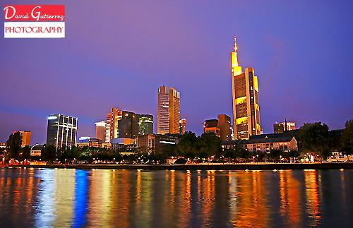 Frankfurt Skyline Colors