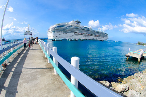 Island Princess at Ocho Rios, Jamaica