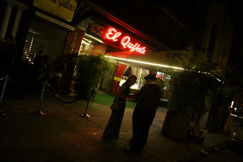 El Quijote Restaurant on Halloween 2011 – NYC